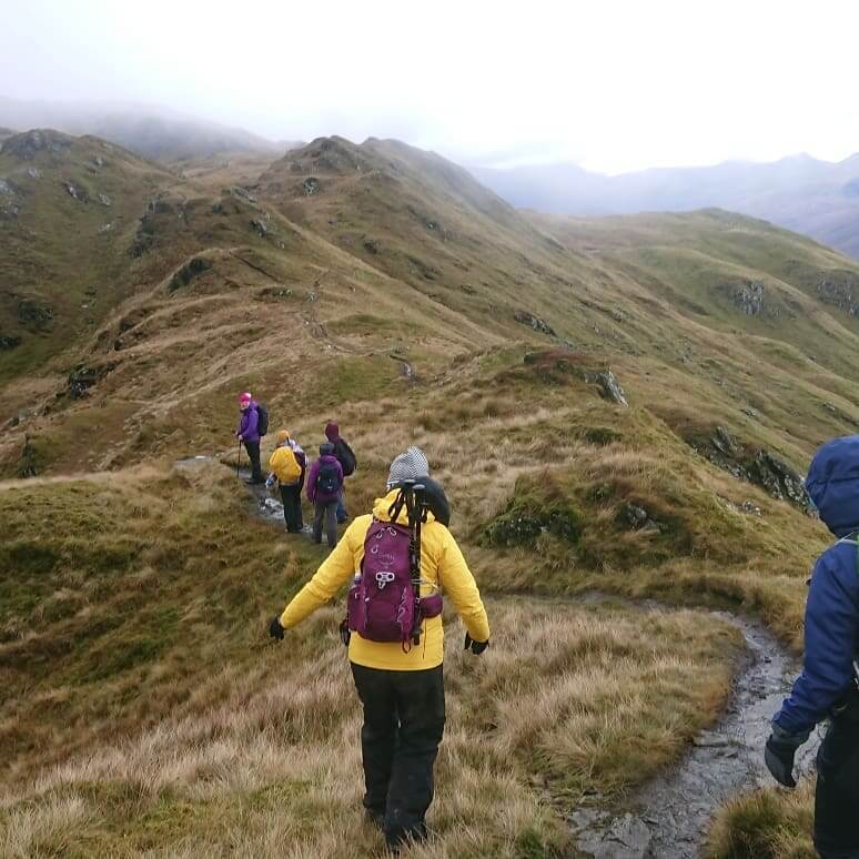 Intro to Ridgewalking – Tarmachan Ridge – Meall nan Tarmachan