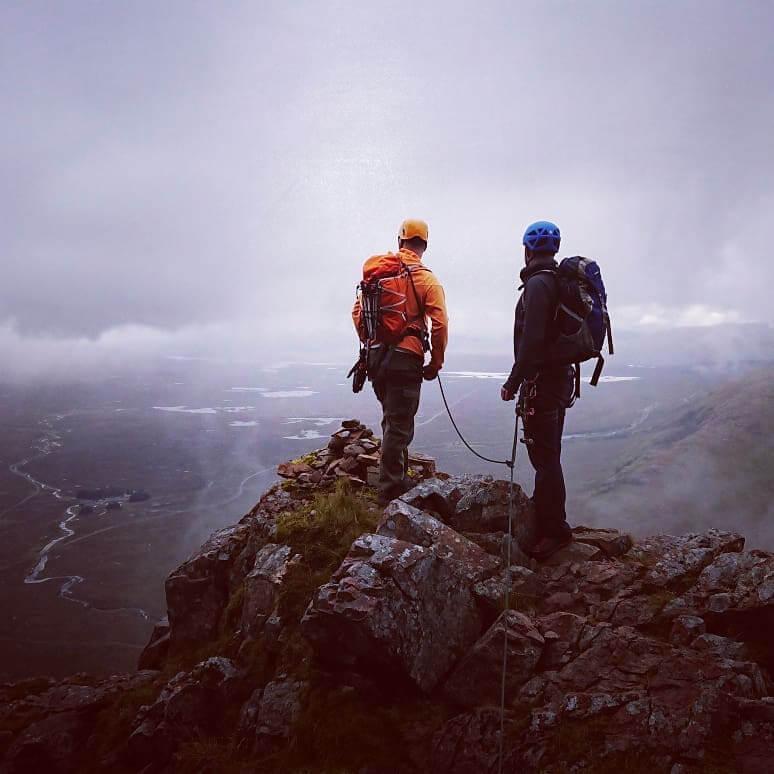 Curved Ridge – Buachaille Etive Mor