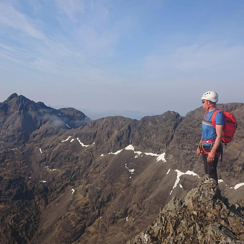 Skye Cuillin Ridge Traverse Attempt